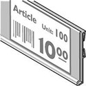 Clear Universal Label Holder 985mm long