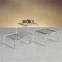 Acrylic Gem Pedestal - Set of 3