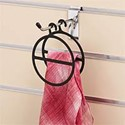 Scarf Hangers Black, Pack of 50