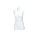 Female Hanging Bust Form, White