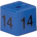 Size Cube 14 - Blue, pack of 50