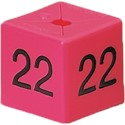 Size Cube 22 - Pink, pack of 50