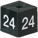 Size Cube 24 - Black, pack of 50