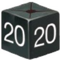 Size Cube 20 - Black, pack of 50
