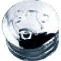 Plastic End Cap for 32mm Diameter Tube, Chrome finish