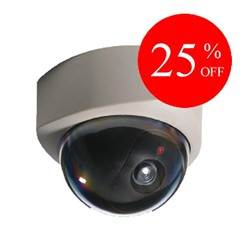 Battery Operated Dome Dummy Camera